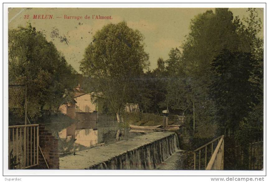 77 - Seine Et Marne /  MELUN --  Barrage De L' Almont - Melun