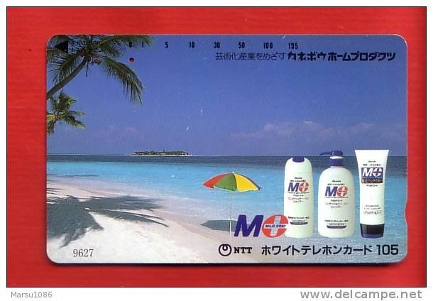 Japan Japon Telefonkarte Phonecard - Parfum Kosmetik Perfume Cosmetics Cosmétique  One Punch - Parfum