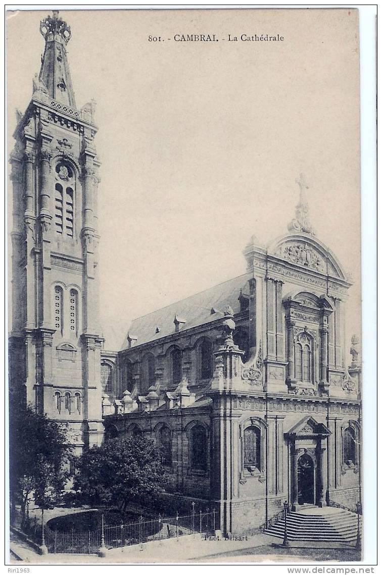 59-cambrai- La Cathedrale - Cambrai