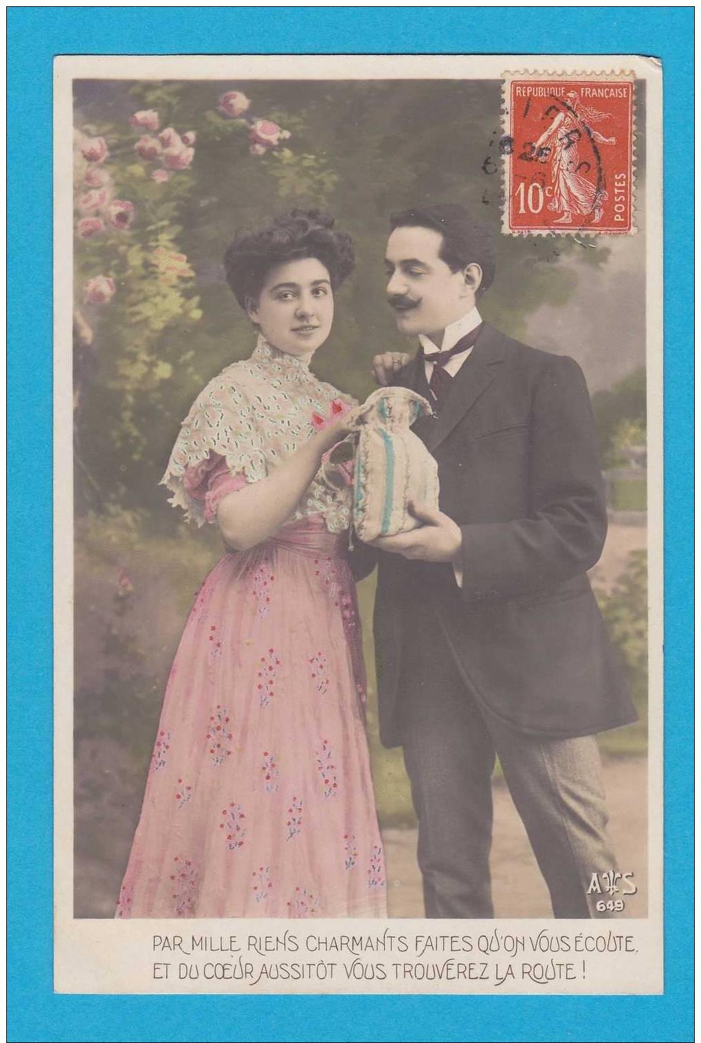 Pâques   Couple  Avec Oeuf     EDT  As 649 - Ostern