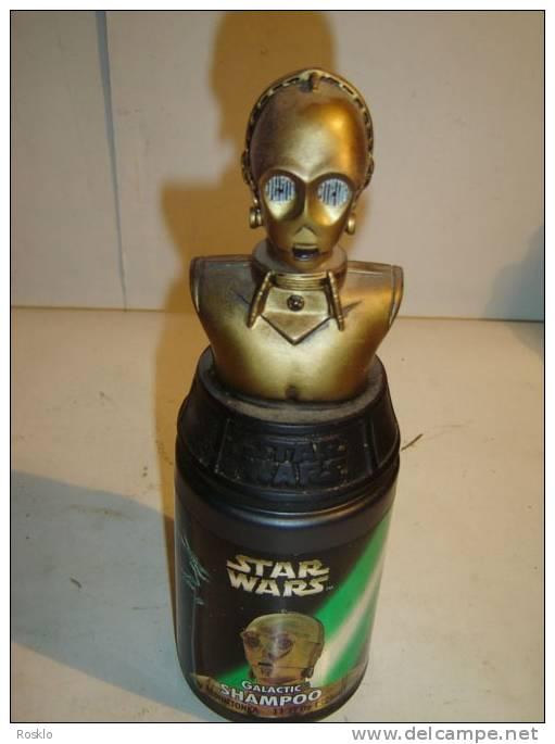 BAINS MOUSSANT / STAR WARS EPISODE 1 / O 3PO  / MINNETONKA 1999  / PARFAIT  ETAT - Figurines