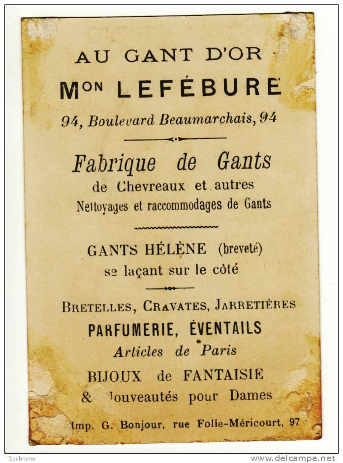 CHROMO Au Gant D´Or Lefébure Conte Enfants Le Petit Chaperon Rouge Frappe Au Moulin - Sin Clasificación