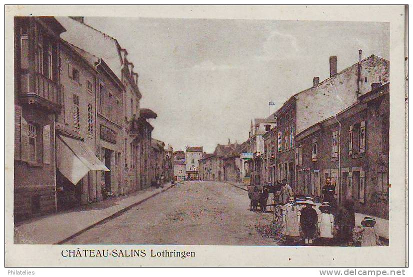 CHATEAU SALINS  LOTHRINGEN - Chateau Salins