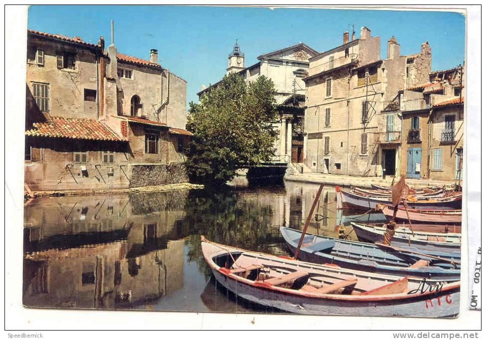 15619 Martigues Le Brescon Et La Cathédrale . 62 Tardy Ary . Barque MTC - Martigues