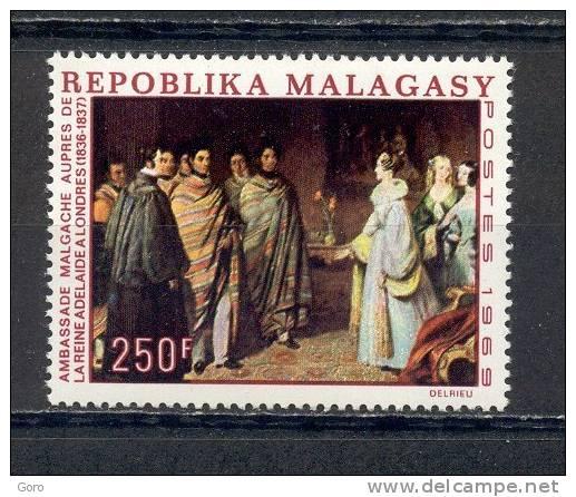Madagascar  1969  .-  Y&T Nº     460      ** - Madagascar (1960-...)