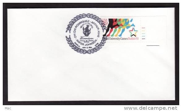 United States - 1994 Boise, ID Hall Of Fame Tennis, Golf, Etc. Postmark On Unaddressed Cover - Tennis