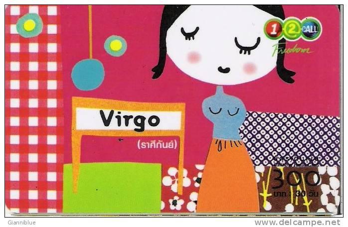 Zodiac - Virgo - Thailand Prepaid Calling Card - Zodiaque