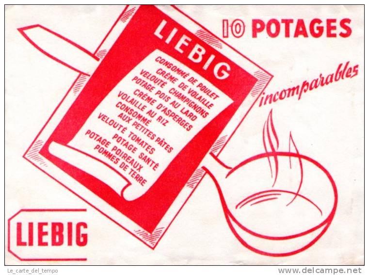 BUVARD: LIEBIG 10 Potage Consommé De Poulet - Alimentare