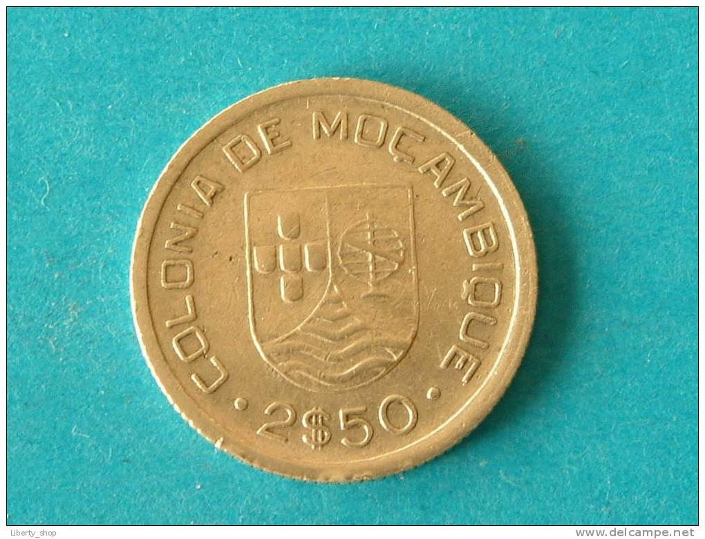 2 $ 50 - 1935 / KM 61 - Republica Portuguesa ( For Grade, Please See Photo ) ! - Mozambique