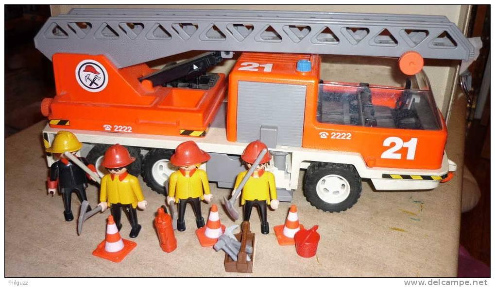 playmobil playmobil equivalence boite 3781 camion de. Black Bedroom Furniture Sets. Home Design Ideas