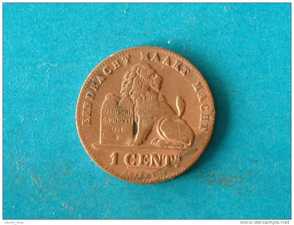 1901 VL - 1 CENT ! - 1865-1909: Leopold II