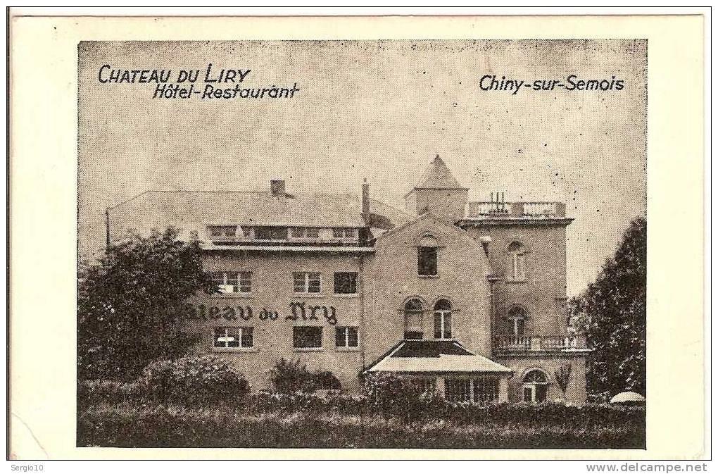 "CHINY -  SUR - SEMOIS  :  "" CHATEAU   DU  LIRY  ""     -     HOTEL   - RESTAURANT - Chiny"