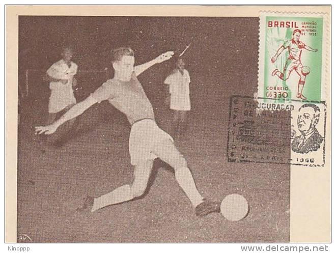 Brazil-Brazil-1959 World Football Cup Maximum Card - Soccer