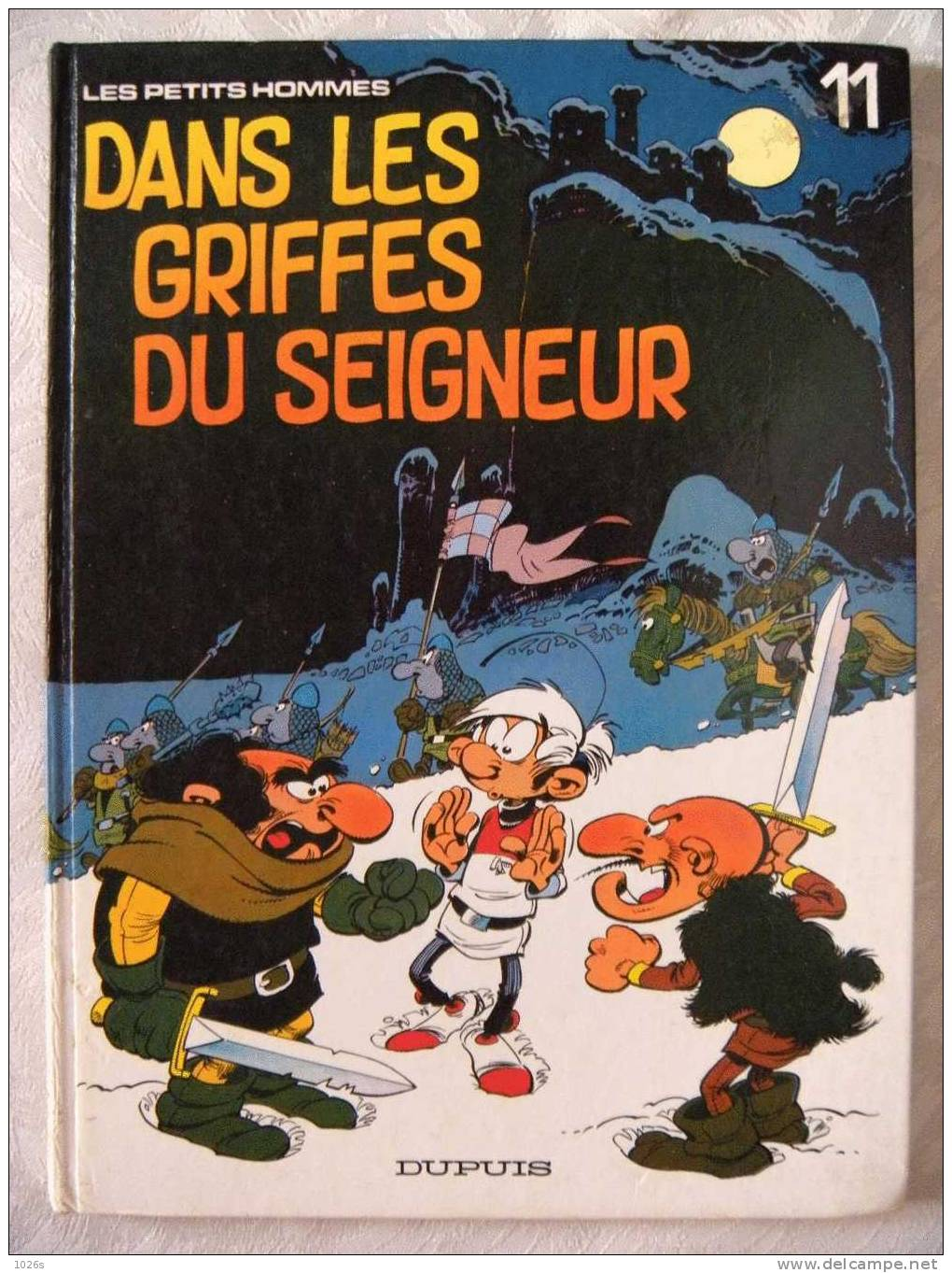 LES PETITS HOMMES - DANS LES GRIFFES DU SEIGNEUR - E.O. - Petits Hommes, Les