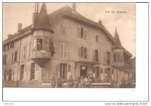 54 CIREY VOR DER KANTINE - Cirey Sur Vezouze