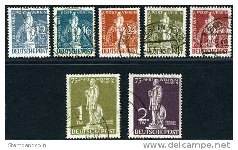 Germany Berlin 9N35-41 Used UPU Set From 1949 - Used Stamps