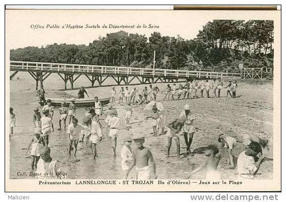 Charente maritime ile d oleron ref a171122 st trojan les bains preventorium lannelongue jeux - Office de tourisme saint trojan les bains ...