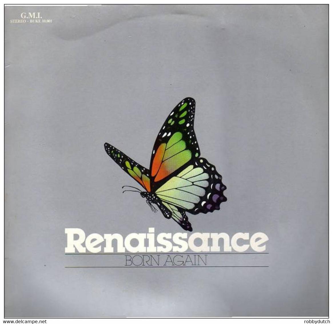 * LP *  RENAISSANCE - BORN AGAIN - Gospel & Religiöser Gesang