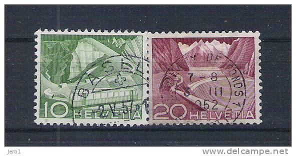 Zwitserland 1956 Y&T Nr° 483,85 (°) - Switzerland