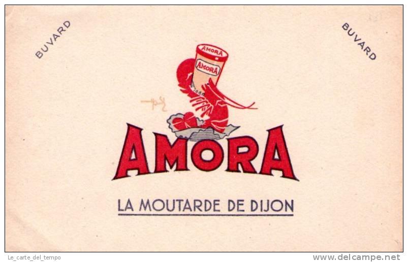 BUVARD: Moutarde AMORA - Alimentare