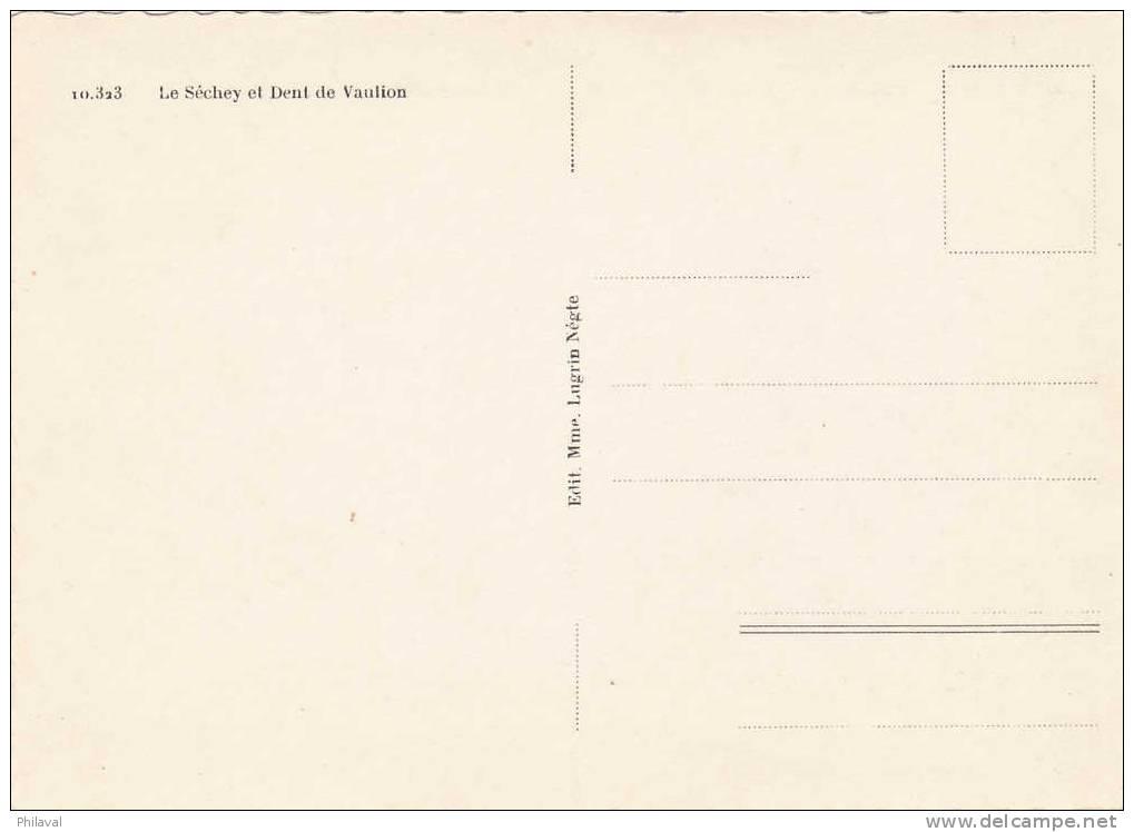 Le Séchey Et La Dent De Vaulion - Cp 10 X 14 - VD Vaud
