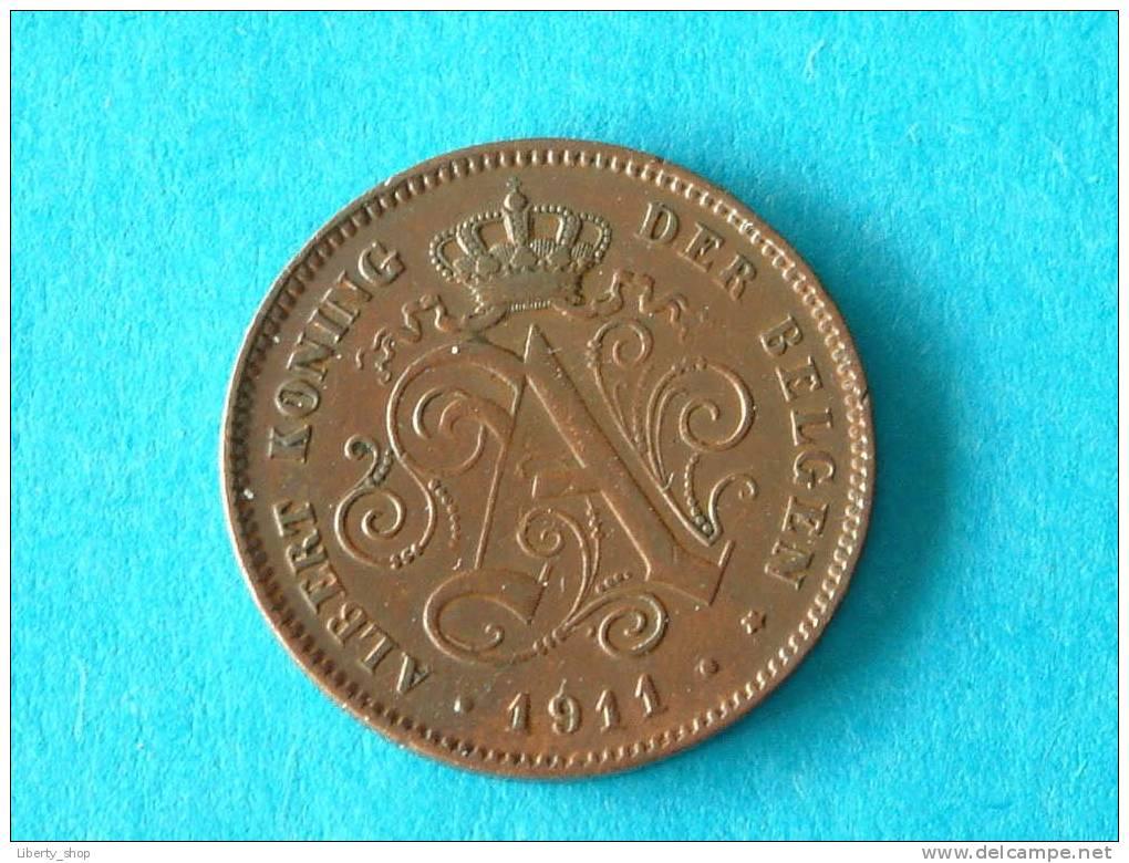 1911 VL - 2 Centiem ( Morin 311 - For Grade, Please See Photo ) ! - 02. 2 Centimes