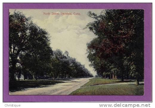 North Street, Litchfield, Conn. 1910s - United States