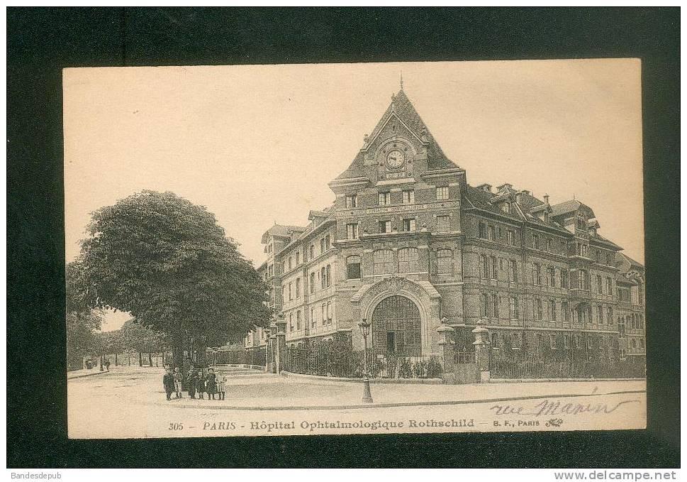 Paris 19è - Hôpital Ophtalmologique Rothschild ( Rue Manin Petite Animation B.F. N°305) - Arrondissement: 19