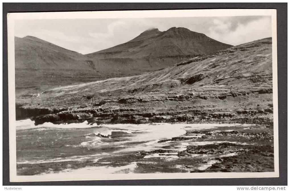 Faroe Islands Slættaratindur, Eysturoy Mint Real Photo Postcard - Färöer
