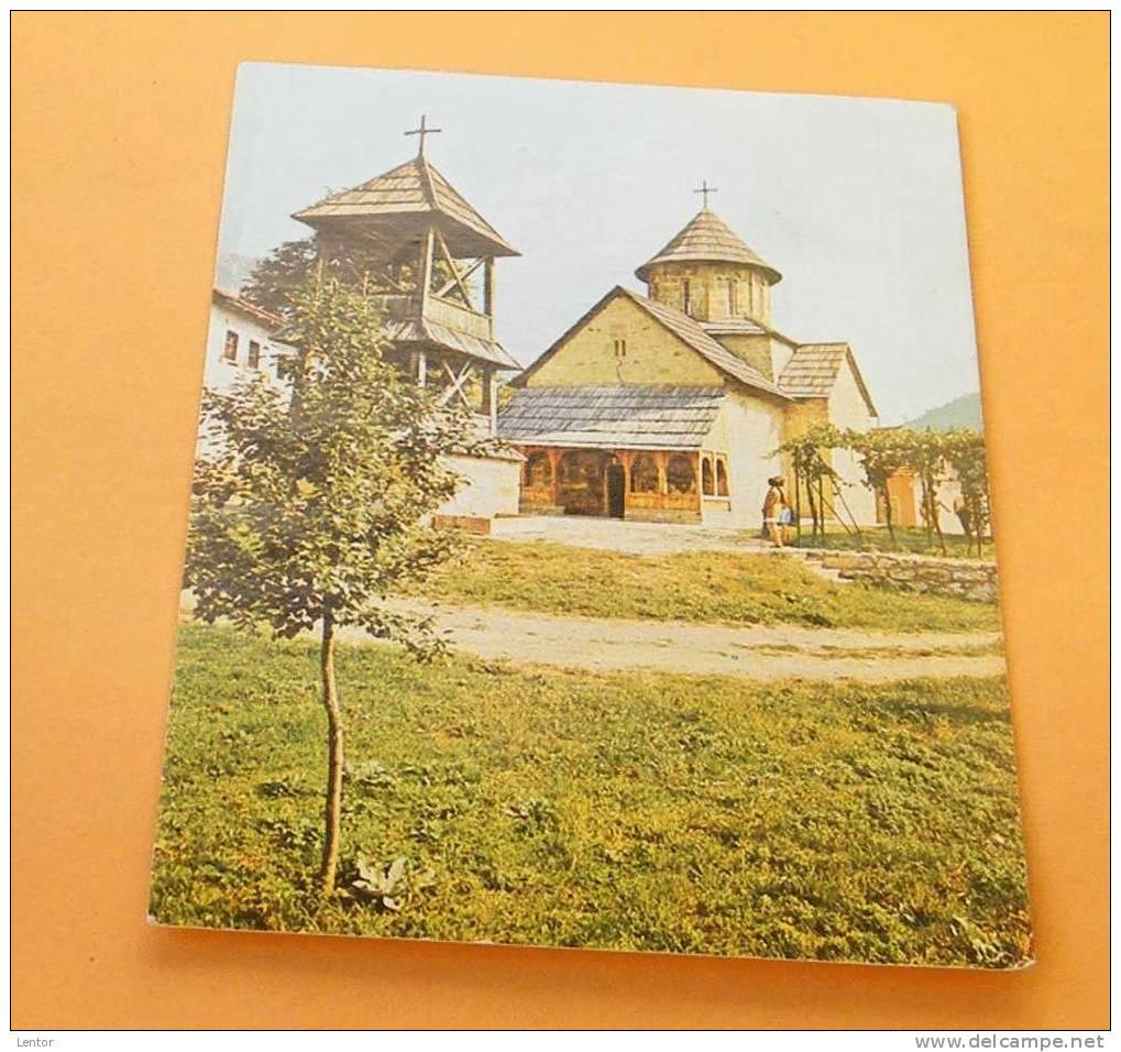 "Kt 043 // Ovcar Banja ,Serbia, Manastir ""Blagovestenje"" - Serbie"