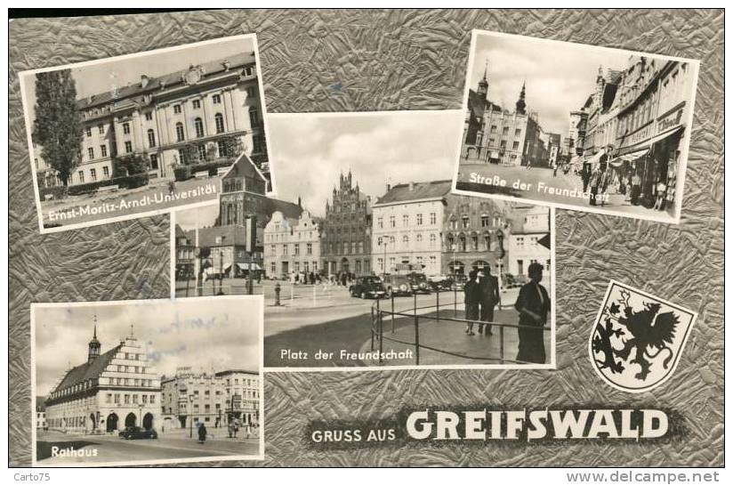 Allemagne - Gruss Aus Greifswald - Greifswald