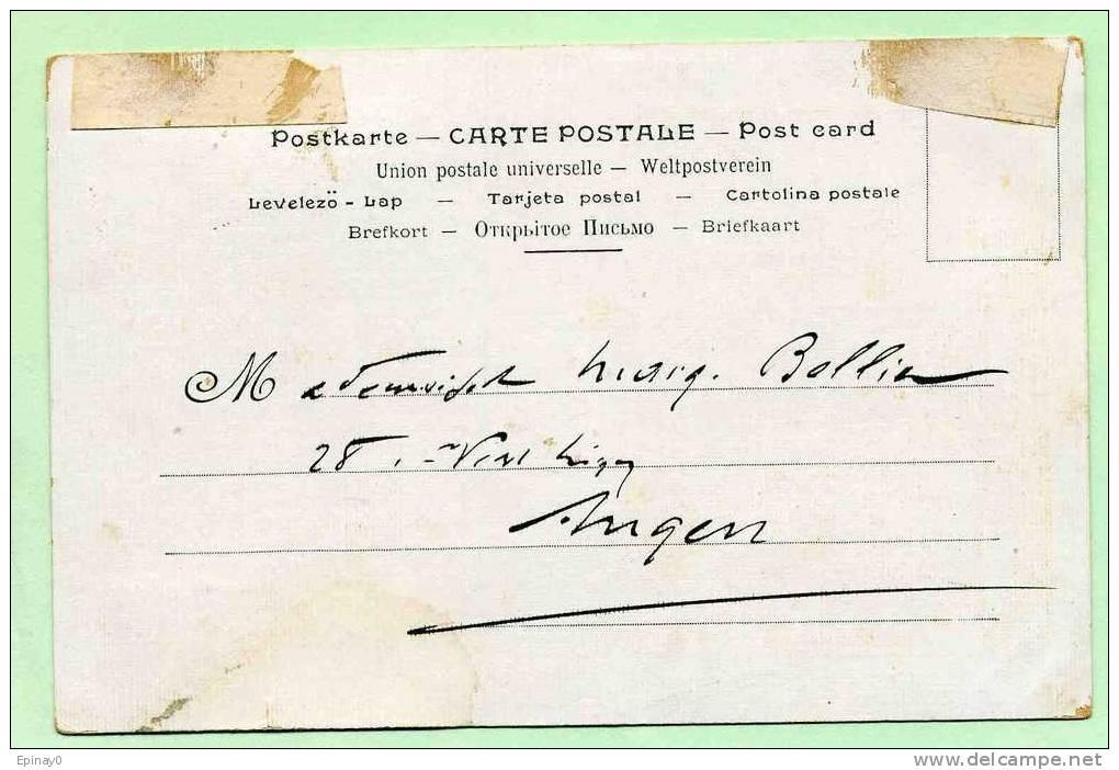 B - ILLUSTRATEUR - JOB - MUCHA - CALENDRIER 1897 - SANTE - TABAC - PUBLICITE - Curieux Lire Le Méssage Sur La Carte - Mucha, Alphonse