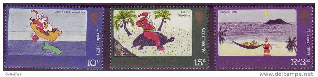 (233) Kerstmis  Seychellen Christmas - Noël