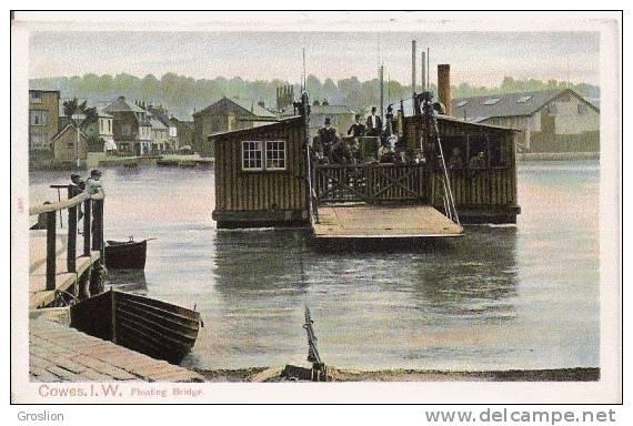 COWES I W FLOATING BRIDGE 1660 - Cowes
