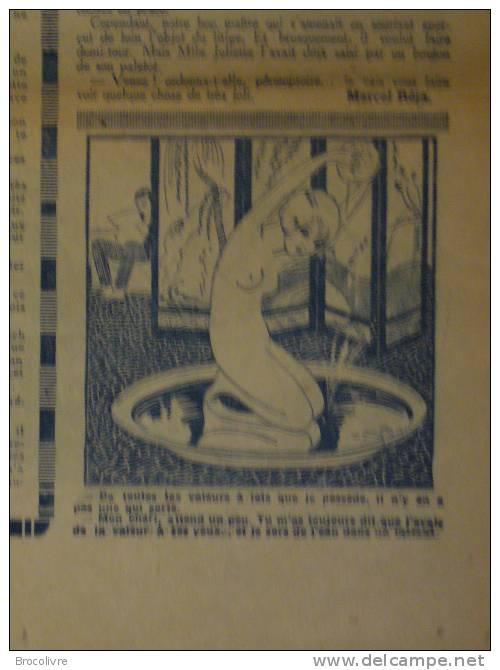 -L´Humour-journal Amusant-Annonces Coquines-Illustrations-N°464?-1925- - Unclassified
