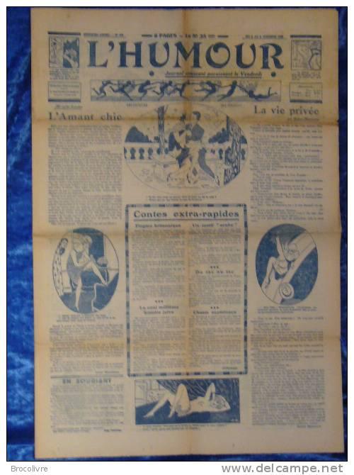 -L´Humour-journal Amusant-Annonces Coquines-Illustrations-N°457-1925- - Unclassified
