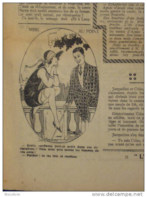 -L´Humour-journal Amusant-Annonces Coquines-Illustrations-N°436-1925-V Spahn- - Unclassified