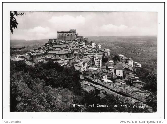 SORIANO NEL CIMINO - Panorama - Cartolina FG BN NV - Italia