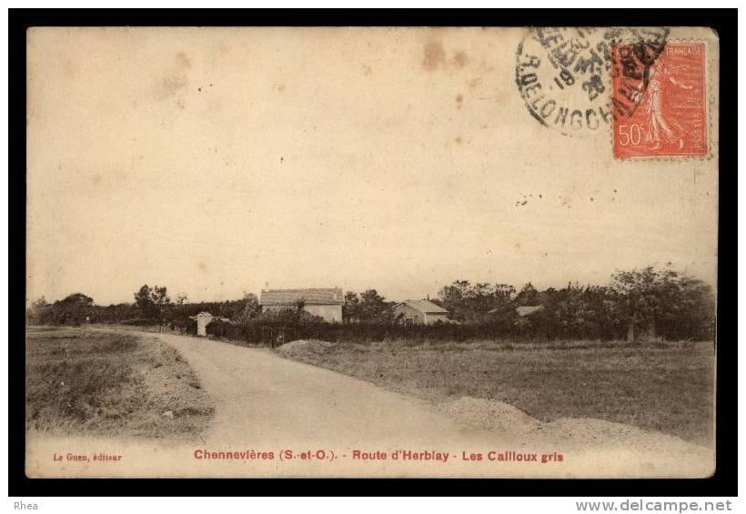 95 Chennevières-lès-Louvres D95D K95277K C95154C RH086802 - France