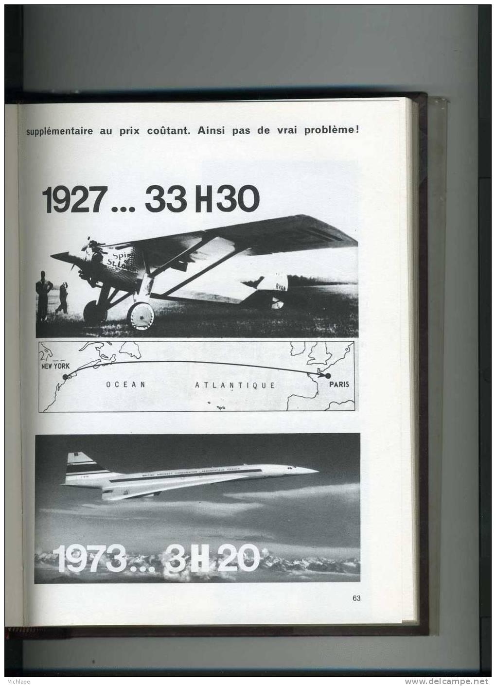 LES GRANDES HEURES DE L´HISTOIRE ( LE MONDE DE L´AVIATION )FORMAT 23X18cmNOMBREUSES PHOTOS  TB ETAT - Libri