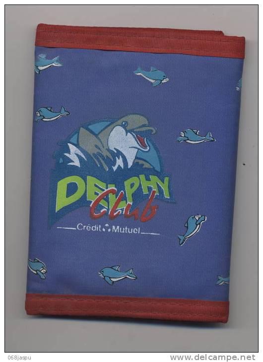 Theme Dauphin Porte-monnaie DELPHY-CLUB Credit Mutuel - Aquaristik