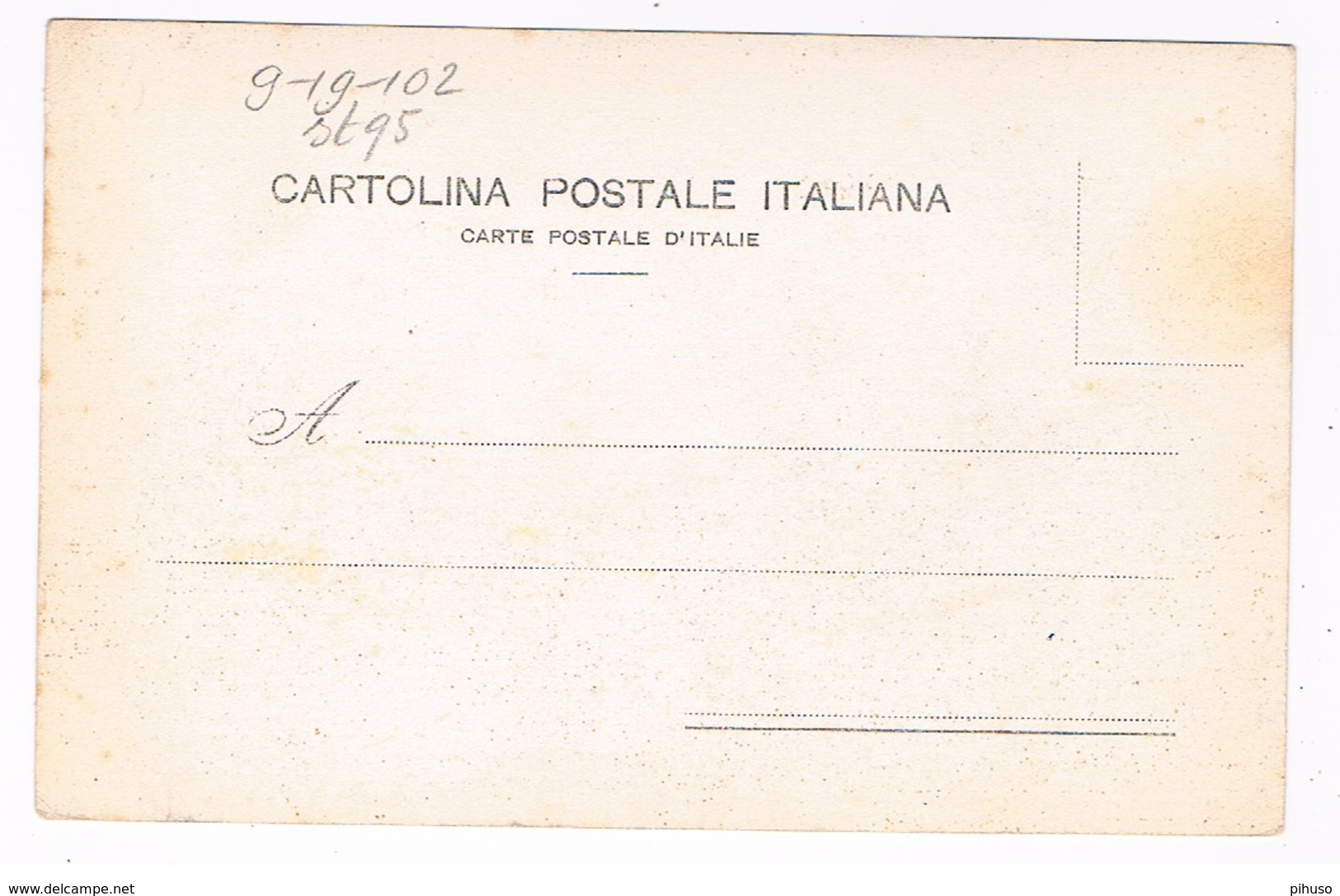 IT95 : PALERMO : Caretto Siciliano - Palermo