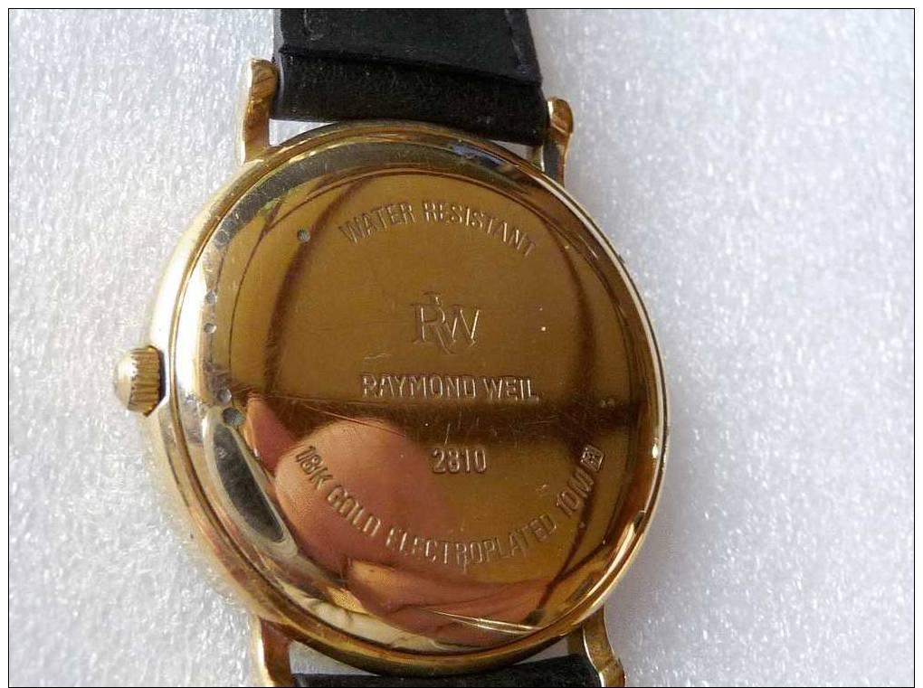 Montre Bracelet  _ RAYMOND WEIL GENEVE DATE AUTOMATIC MENS WATCH, NR - Relojes De Lujo