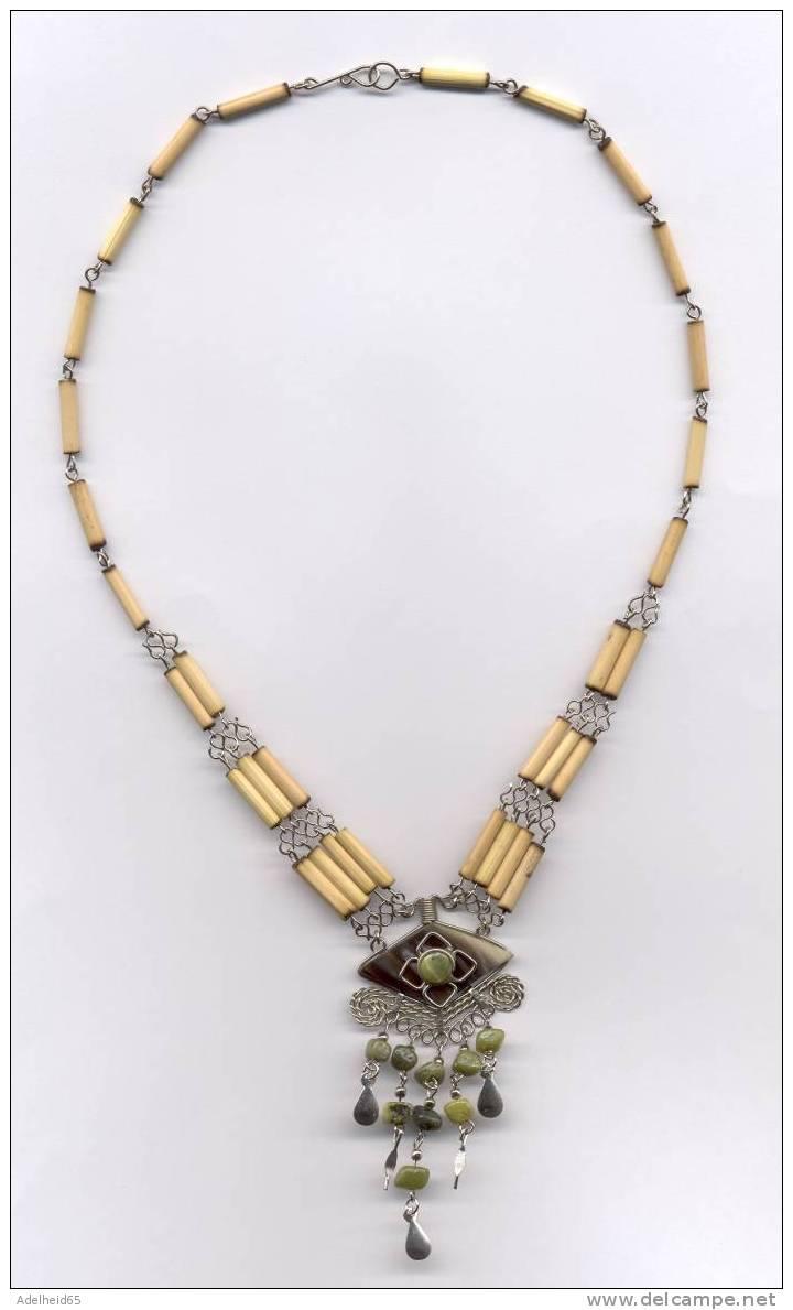 Inca - Collier, Halsketting, Necklace Peru - Ethnisch
