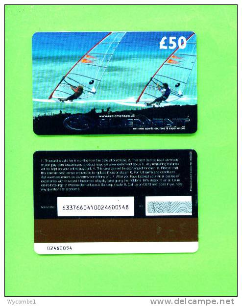UK - Magnetic Gift Card/Element - Other Collections