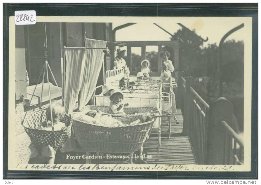 ESTAVAYER LE LAC - FOYER GARDIEN - TB - FR Fribourg