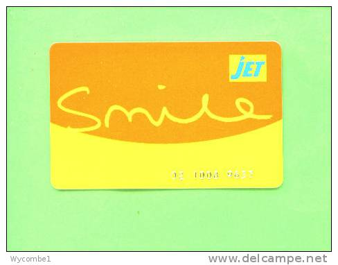 UK - Jet Petrol Smile Card - Unclassified