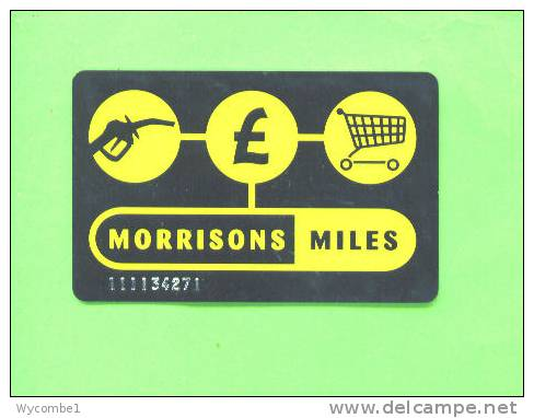 UK - Morrisons Miles Card - Unclassified