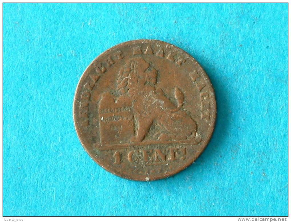 1894 VL 1 Cent ( Morin 227 - For Grade, Please See Photo ) !! - 1865-1909: Leopold II