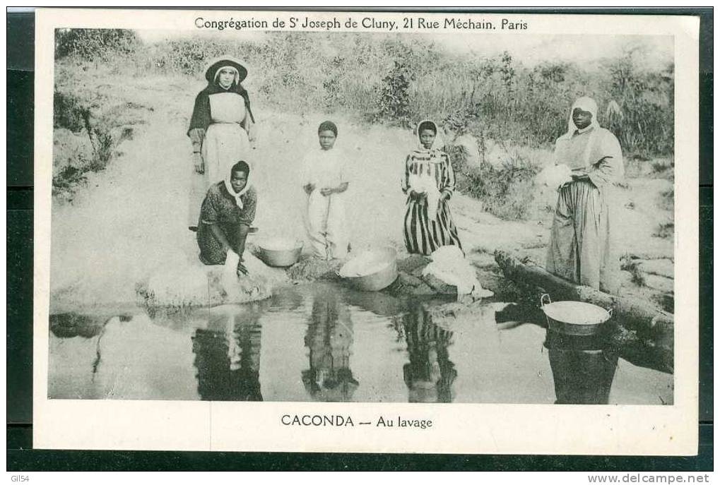 Caconda - Au Lavage    PL69 - Angola